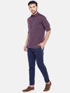 Men's Cotton Rust Slim Fit Shirt Cottonworld Men's Shirts