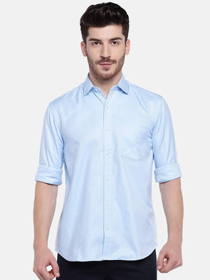Men's Cotton Sky Regular Fit Shirts Cottonworld Men's Shirts