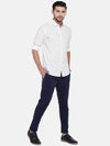 Men's Cotton White Slim Fit Shirt Cottonworld Men's Shirts