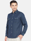 Men's Linen Cotton Lyocell Woven Olive Slim Fit Shirt Cottonworld Men's Shirts