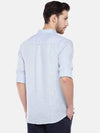 Men's Linen Sky Regular Fit Shirt Cottonworld Men's Shirts