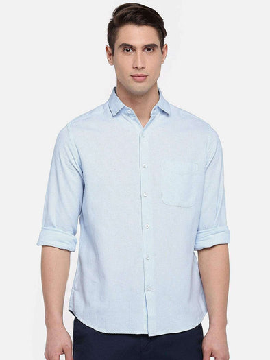 Men's Cotton Sky Slim Fit Shirts Cottonworld Men's Shirts