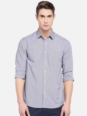 Men's Cotton Brown Regular Fit Shirts Cottonworld Men's Shirts