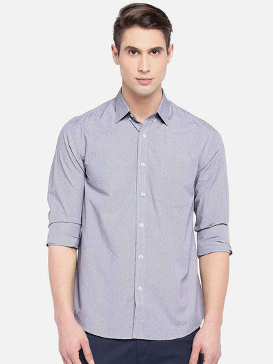 Men's Cotton Brown Regular Fit Shirt Cottonworld Men's Shirts
