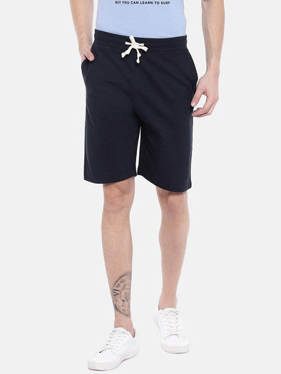 Men's Cotton Navy Regular Fit Shorts Cottonworld Men's Shorts
