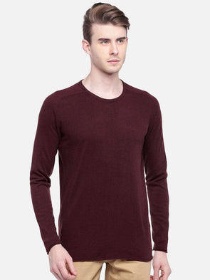 Cottonworld Men's Sweaters MEN'S 100% COTTON CINNAMON REGULAR FIT SWEAT