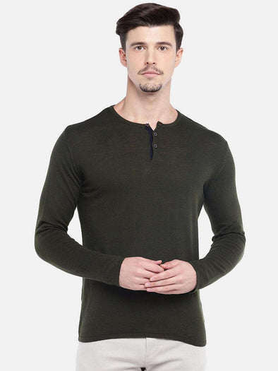 Men's Cotton Forest Regular Fit Sweater Cottonworld Men's Sweaters