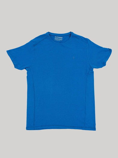 Cottonworld Men's Tshirt Men's Cotton Bamboo Elastane Royal Regular Fit Tshirt