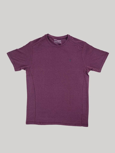 Cottonworld Men's Tshirt Men's Cotton Bamboo Elastane Wine Regular Fit Tshirt