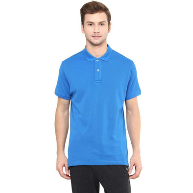 Cottonworld Men's Tshirts Men Blue Regular T-Shirts