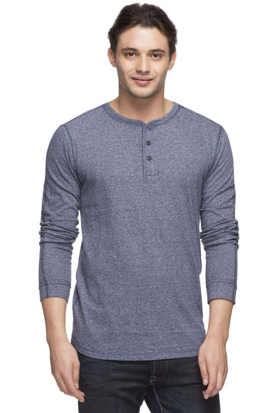 Men's Cotton Blue Tshirt Cottonworld Men's Tshirts