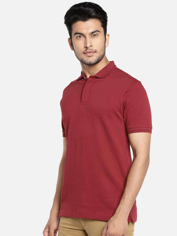 Men's Cotton Cinnamon Regular Fit Tshirt Cottonworld Men's Tshirts