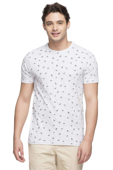 Cottonworld Men's Tshirts MEN'S 100% COTTON ECRU MELAN TSHIRT