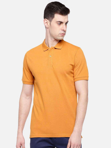 Cottonworld Men's Tshirts MEN'S 100% COTTON ELASTANE DESERT REGULAR FIT TSHIRT