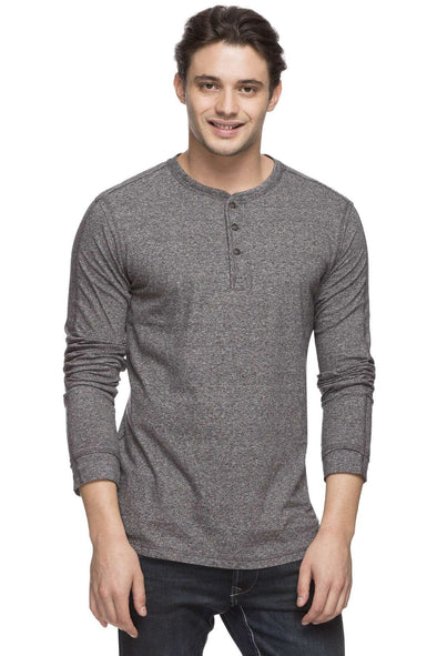 Cottonworld Men's Tshirts MEN'S 100% COTTON GREY  TSHIRT
