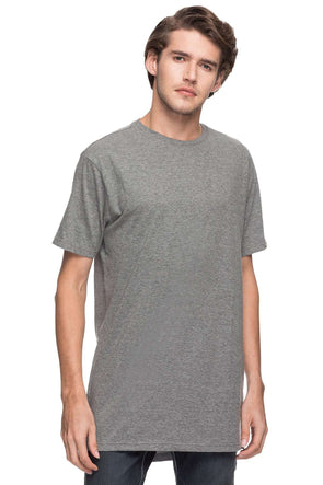 Cottonworld Men's Tshirts MEN'S 100% COTTON SOLID ANTHRAMEL REGULAR FIT TSHIRT