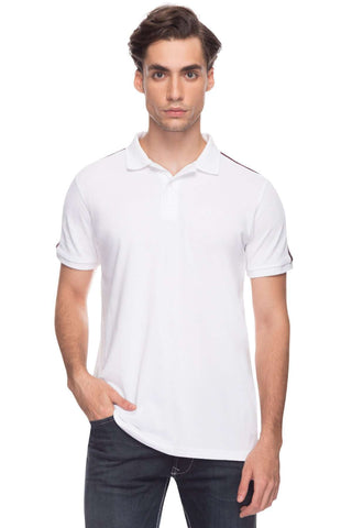 Cottonworld Men's Tshirts Men White Regular Cotton T-Shirts