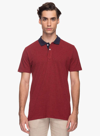 Cottonworld Men's Tshirts MENS 92% COTTON 8% POLYSTER SOLID RED TSHIRT