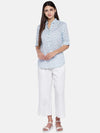 Women's Linen White Regular Fit Culotte Cottonworld Women's Culottes