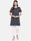Women's Cotton Denim Regular Fit Kdress Cottonworld Women's Dresses