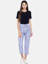Women's Linen Cotton Denim Regular Fit Pants Cottonworld Women's Pants