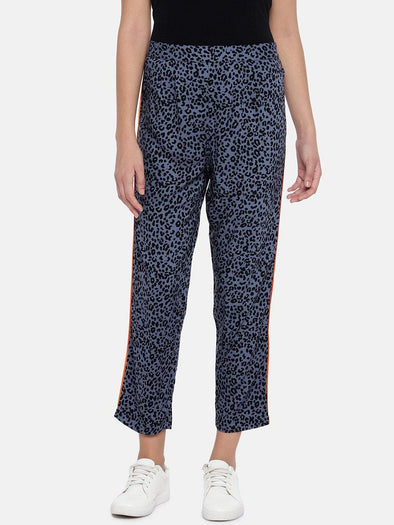 Women's Viscose Voilet Regular Fit Pajama Cottonworld Women's Pants