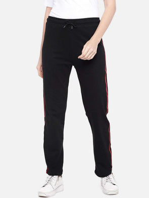 Women's Cotton Black Regular Fit Kpants Cottonworld Women's Pants