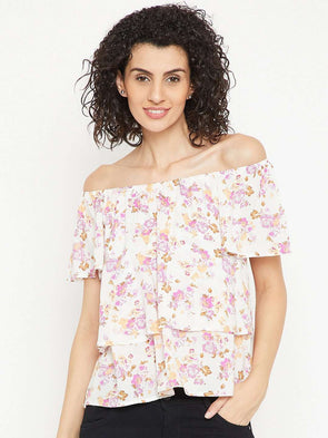 Women's Modal Pink Regular Fit Blouse Cottonworld Women's Tops