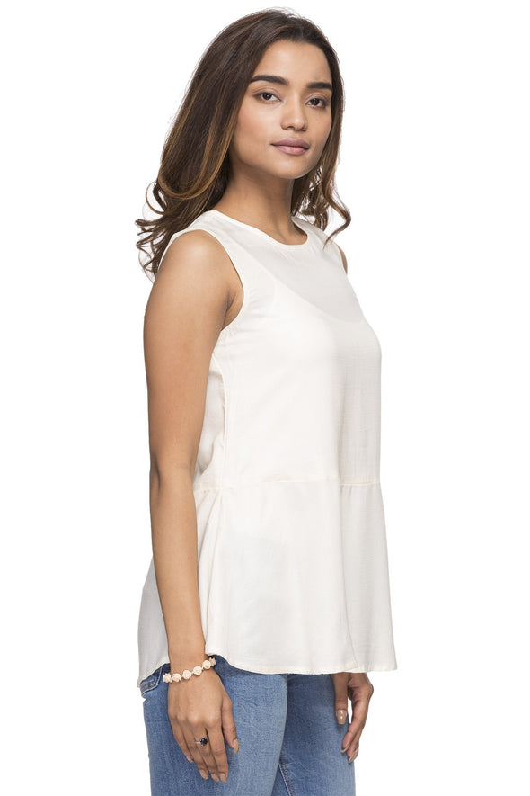 Women's Modal Whisper Wh Regular Fit Blouse Cottonworld Women's Tops