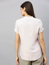 Women's Linen Bamboo Natural Blouse Cottonworld Women's Tops