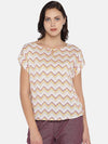 Women's Viscose Woven Pink Regular Fit Blouse Cottonworld Women's Tops