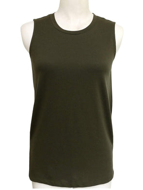 Cottonworld Women's Tshirts XSMALL / OLIVE Women's Cotton Olive Regular Fit Kvest