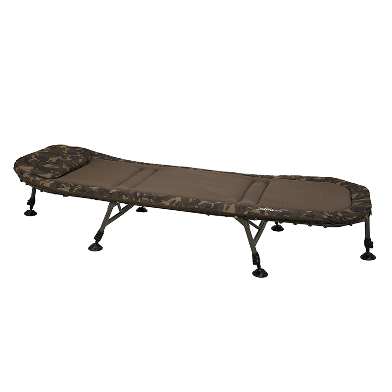 Fox Duralite 6 Leg Bedchair - Vale Royal Angling Centre
