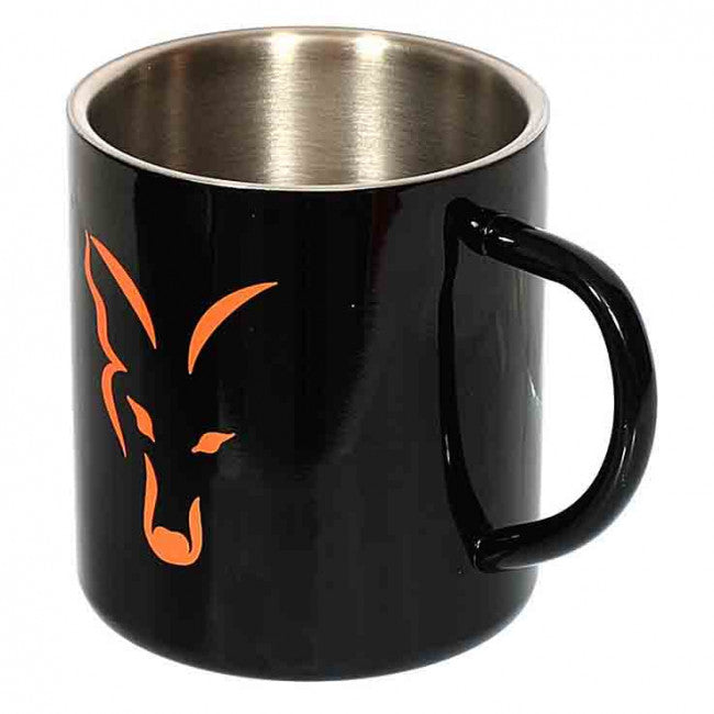 Fox Stainless Steel Mug - Vale Royal Angling Centre