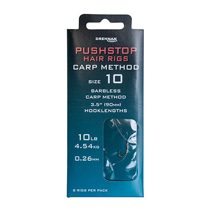 Drennan Pushstop Hair Rigs Carp Method