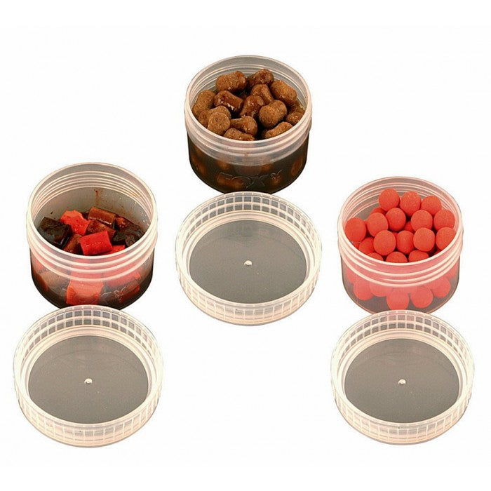 Fox Bait Tubs x6 - Vale Royal Angling Centre