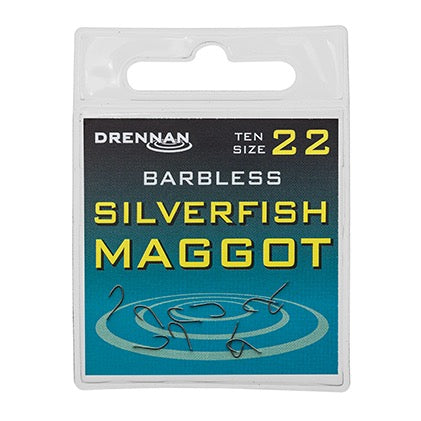 Drennan Barbless Silverfish Maggot