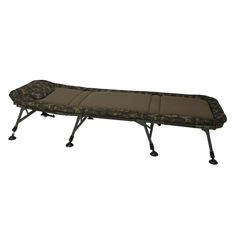 Fox Flatliner 8 Leg Bedchair - Vale Royal Angling Centre