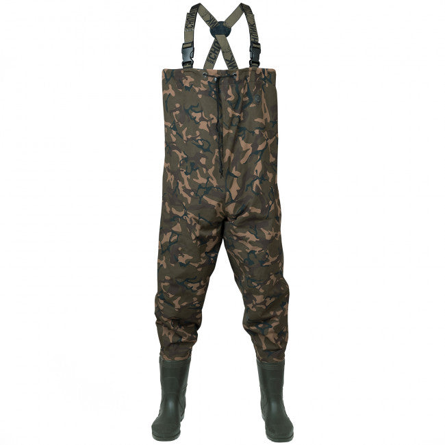 Fox Chunk Camo Lightweight Waders - Vale Royal Angling Centre