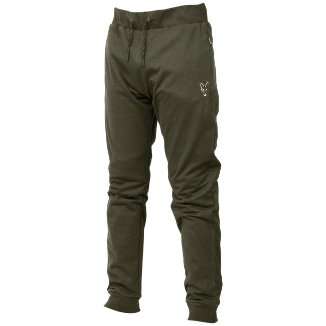 Fox Collection Green Silver Lightweight Joggers - Vale Royal Angling Centre
