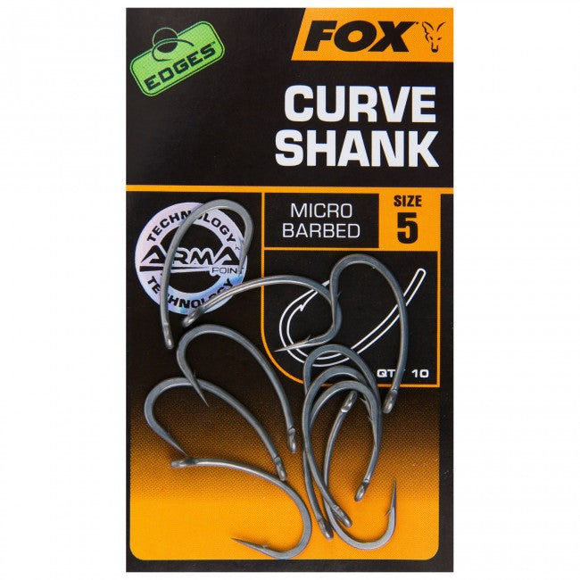 FOX EDGES™ CURVE SHANK - Vale Royal Angling Centre