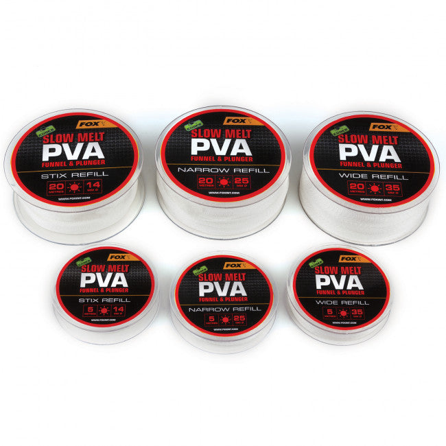 Fox Edges Slow Melt PVA Refills - Vale Royal Angling Centre