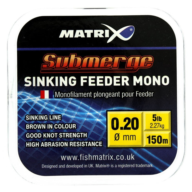 Matrix Submerge Sinking Feeder Mono - Vale Royal Angling Centre