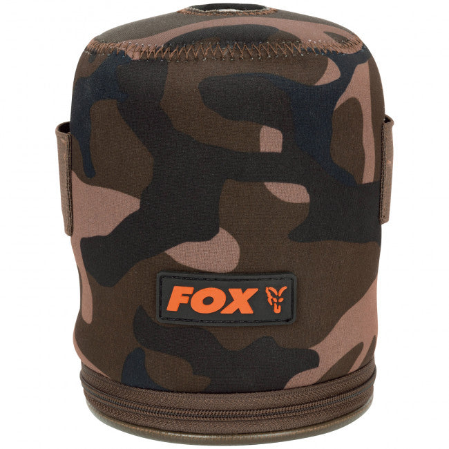 Fox Camo Gas Cannister Cover - Vale Royal Angling Centre