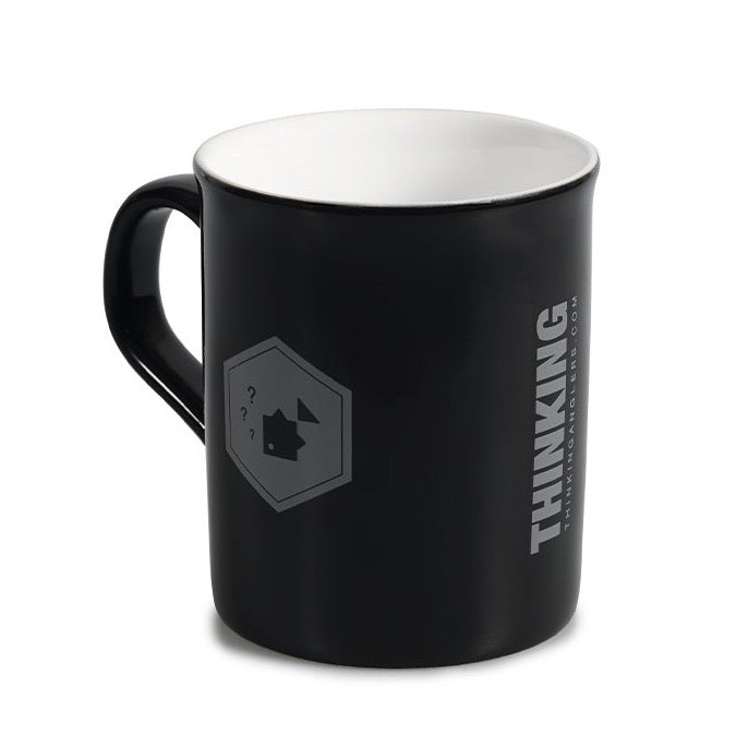 Thinking Anglers Gloss Black Mug