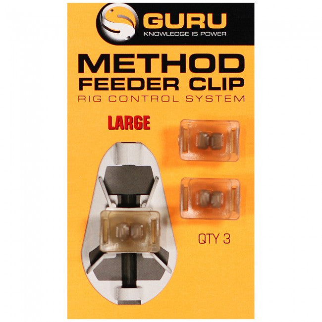 Guru Method Feeder Clip - Vale Royal Angling Centre