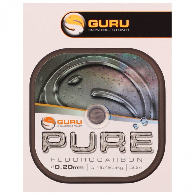 Guru Pure Fluorocarbon - Vale Royal Angling Centre