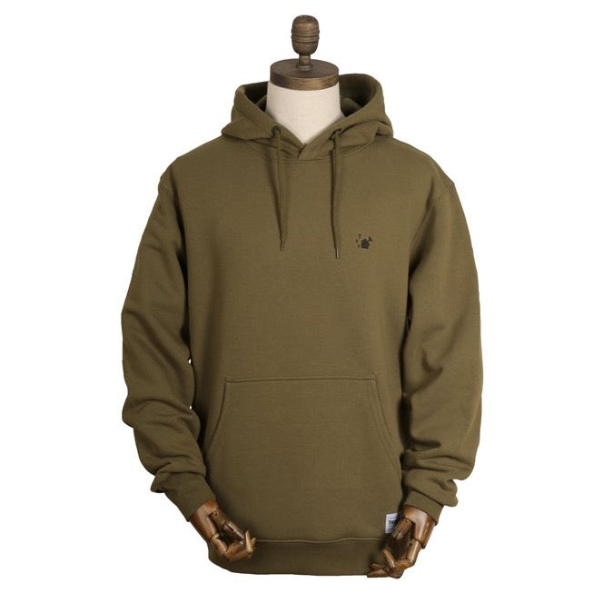 Thinking Anglers Hoody Olive