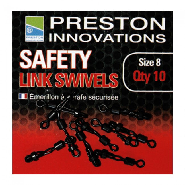 Preston Innovations Safety Link Swivels - Vale Royal Angling Centre