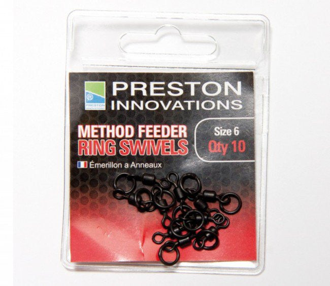 Preston Innovations Method Feeder Ring Swivels - Vale Royal Angling Centre